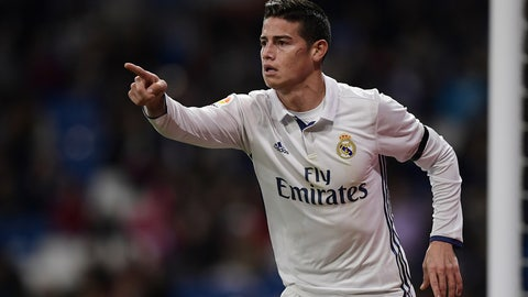 T-37. James Rodriguez, Real Madrid