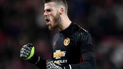 GK: David de Gea, Man United (€58 million)