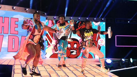 The New Day vs. Cesaro and Sheamus for the Raw Tag Team Championship