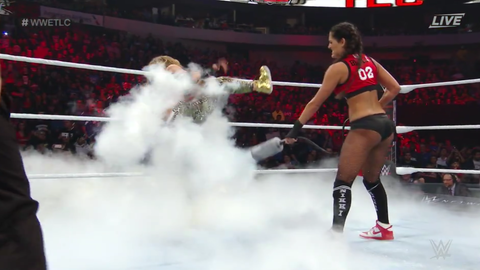 Nikki Bella defeated Carmella