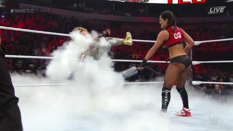 Nikki Bella defeated Carmella