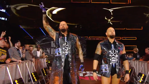 Luke Gallows and Karl Anderson for The Vaudevillains