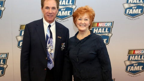 Darrell Waltrip and wife Stevie