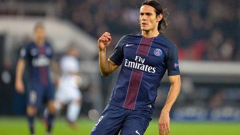 Edinson Cavani, Paris Saint-Germain – €82.8 million