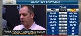 Frank Vogel: We shot the ball really well tonight