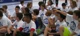 Lightning distribute street hockey gear, training in Ellenton
