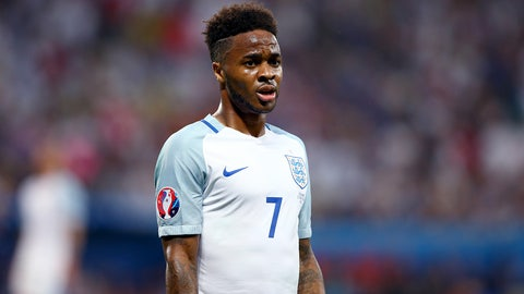 Raheem Sterling, Manchester City – €85.5m