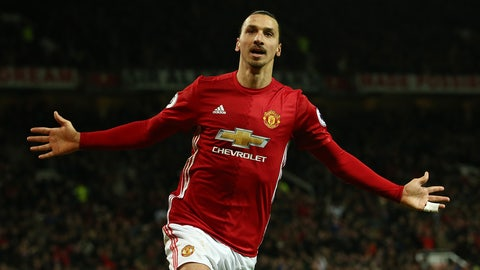 4. Zlatan Ibrahimovic — $37.4 million