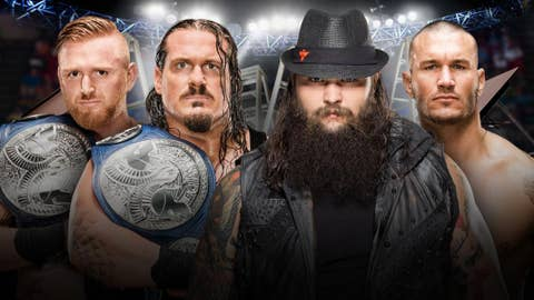Heath Slater and Rhyno vs. Bray Wyatt and Randy Orton for the WWE SmackDown Tag Team Championship