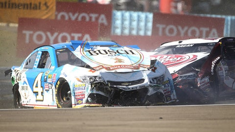 Wreck at Watkins Glen