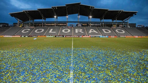 March 4 -- Colorado Rapids (Dick's Sporting Goods Park)