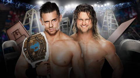 The Miz vs. Dolph Ziggler in a ladder match for the WWE Intercontinental Championship