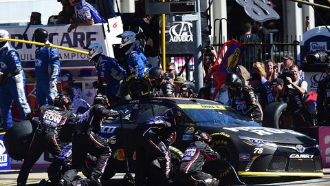 Chase catastrophe at Charlotte
