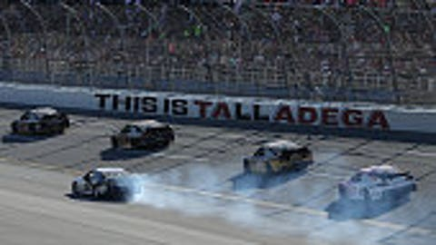 How about making Talladega the final race in the playoffs? — Josh