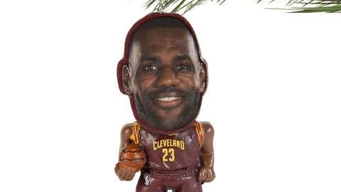 "LeBron James ""Flathlete"" Ornament"
