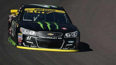 Kurt Busch, Monster Energy  primary paint scheme