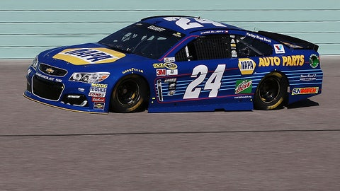 Chase Elliott, NAPA Auto Parts primary paint scheme