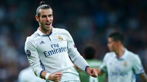 6. Gareth Bale, Real Madrid