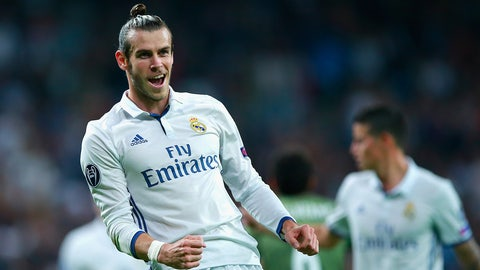 Gareth Bale, Real Madrid – €84m