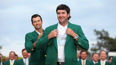 3. Masters' Green Jacket