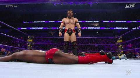 Neville makes surprise return, attacks Rich Swann
