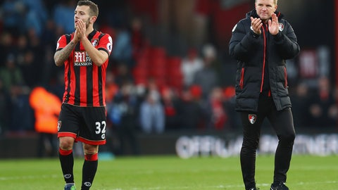 Bournemouth vs. Southampton (Sunday, 8:30 a.m.)