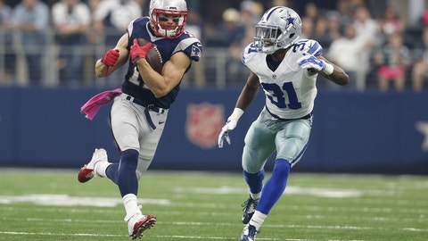 MOST LIKELY -- 1. Cowboys-Patriots: 7/1