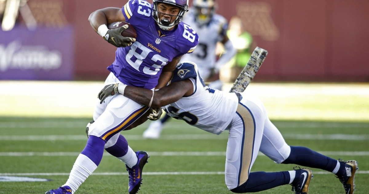 pretty nice 279ea 12cec Chicago Bears sign MyCole Pruitt from Vikings practice squad ...