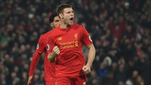 Sunday: Bournemouth vs. Liverpool