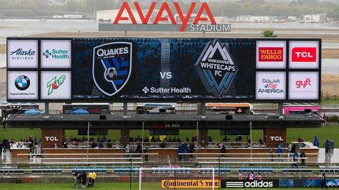 March 4 -- San Jose Earthquakes (Avaya Stadium)
