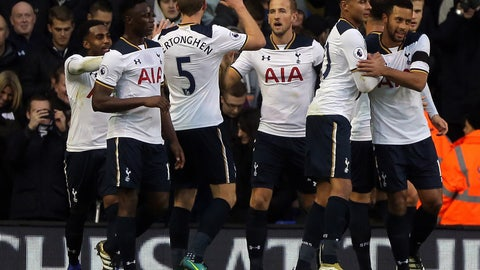 Tottenham vs. Burnley (Sunday, 11 a.m.)