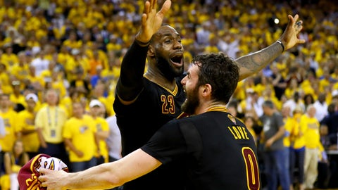 The Cavaliers broke Cleveland's 52-year pro championship drought