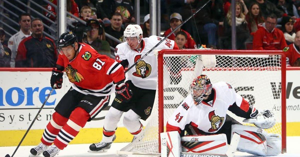 Chicago Blackhawks Vs Ottawa Senators Live Streaming