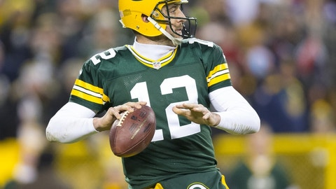 Packers (-3.5) over LIONS (Over/under: 49.5)