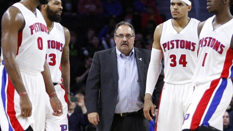 Detroit Pistons: D-