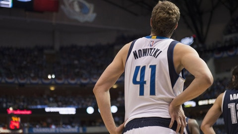 Dirk Nowitzki's career is coming to an end