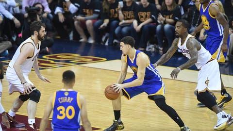 Starting shooting guard: Warriors
