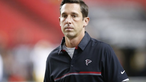 Kyle Shanahan, Falcons offensive coordinator