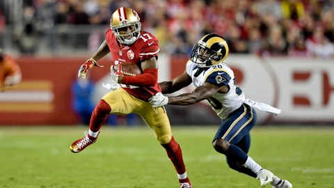 September 21: Los Angeles Rams at San Francisco 49ers, 8:25 p.m. ET