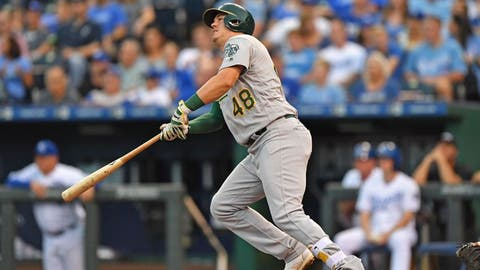 UP: Ryon Healy