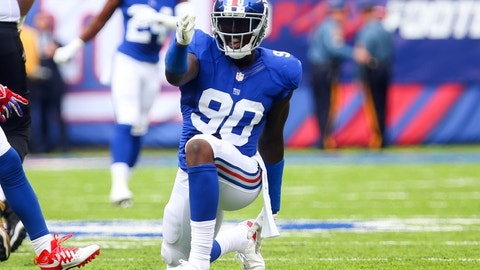 New York Giants: Jason Pierre-Paul, DE