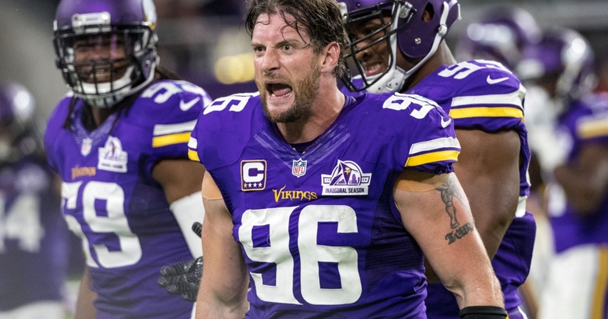 brand new 9bcdf 7049c Veteran Brian Robison cut by Vikings | FOX Sports
