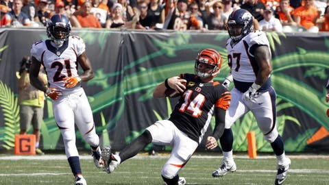 November 19: Cincinnati Bengals at Denver Broncos, 4:25 p.m. ET