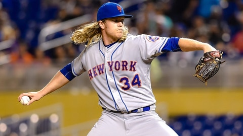 Noah Syndergaard (SP) -- New York Mets (8/29/92)