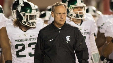 """""""Michigan State will have a 'down' year at 8-4"""""""