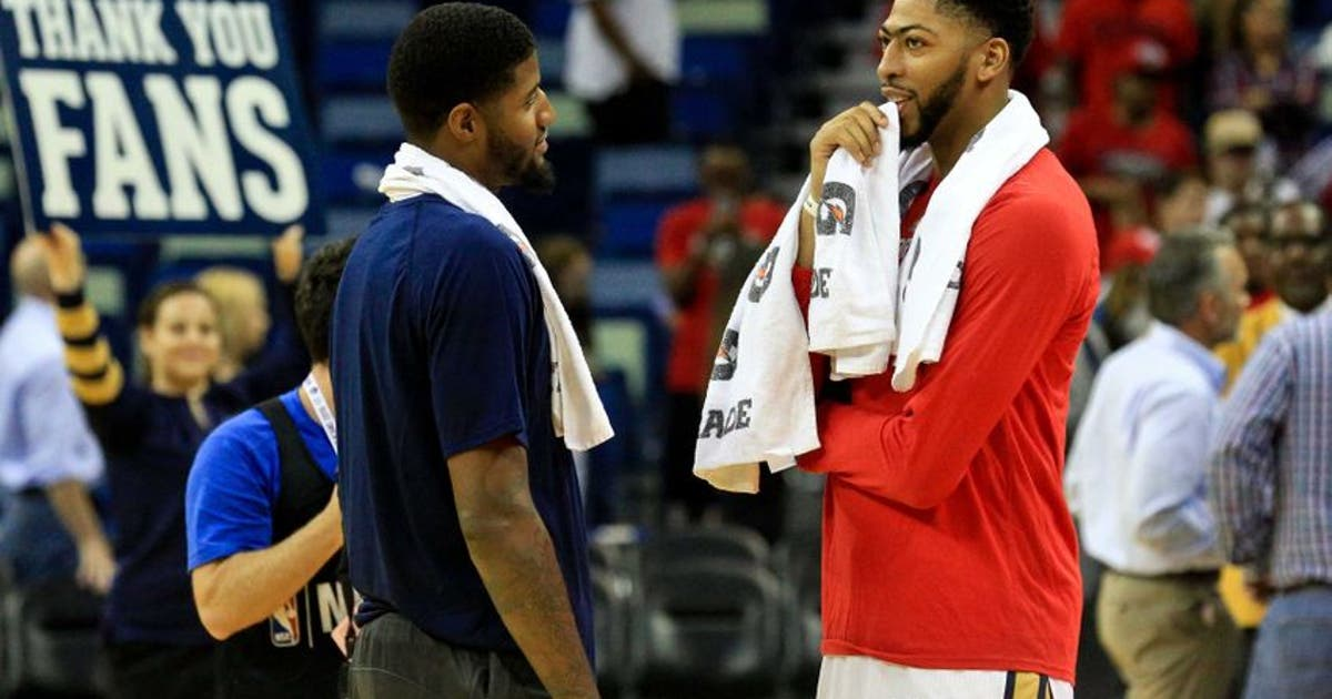 Image result for anthony davis paul george