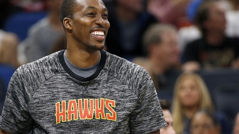 13. Dwight Howard, Atlanta Hawks: $23,180,275