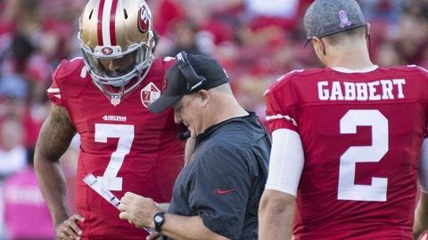 Blaine Gabbert/Colin Kaepernick, 49ers