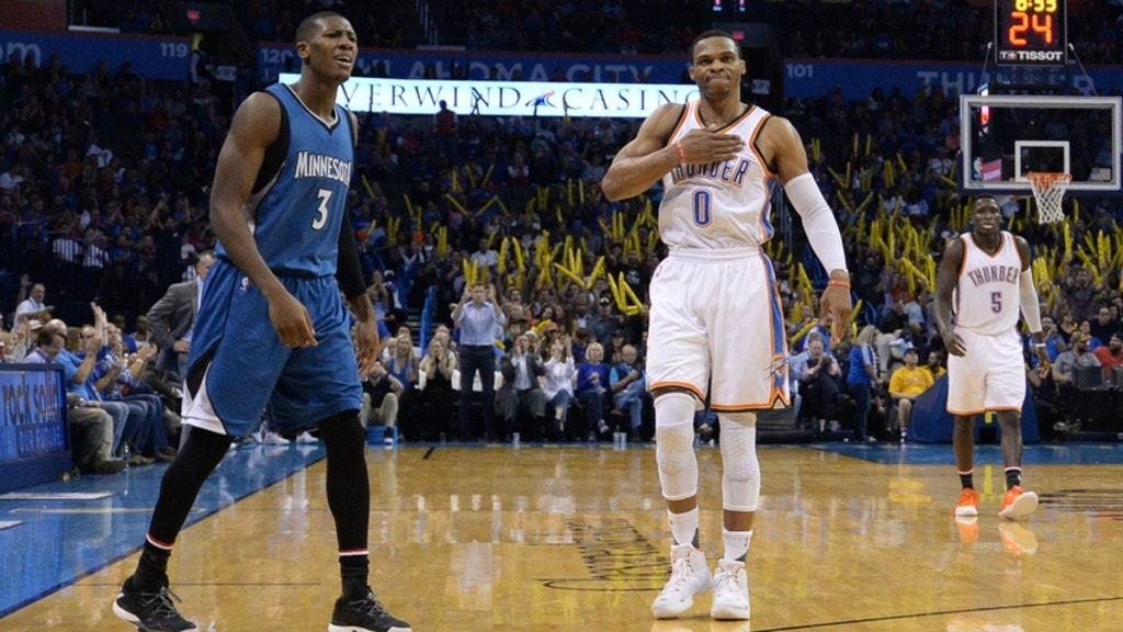 finest selection 76b96 a54a0 Timberwolves vs Thunder: Christmas Day Preview   FOX Sports