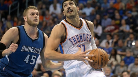 Oklahoma City Thunder: Enes Kanter